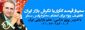 سمینار 6 ساعته قیمت گذاری با نگرش بازار ایران