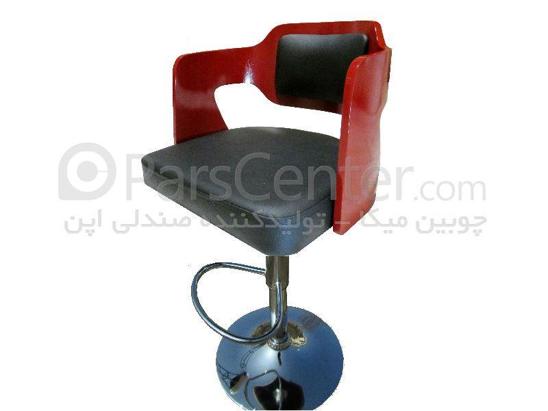 صندلی اپن جکدار مدل B12 - رنگ پوششی و پلی استر