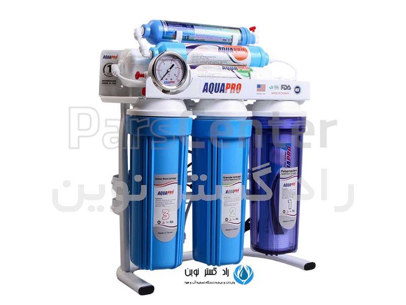 دستگاه تصفیه آب قلیایی آکوا (قلیایی کننده آب) AQUA-PRO-45G8