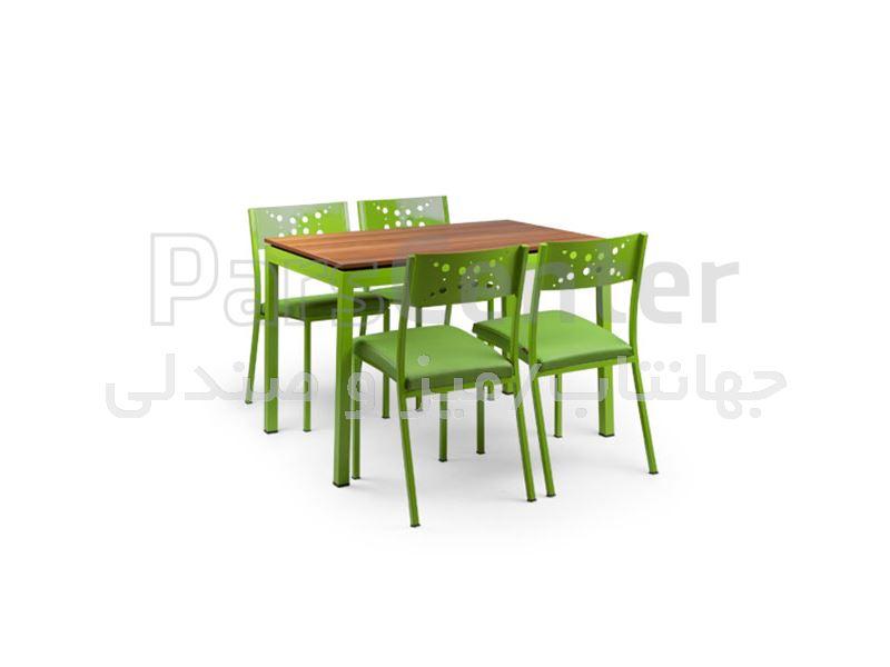 میز رستورانی مدل آدریاc (جهانتاب)