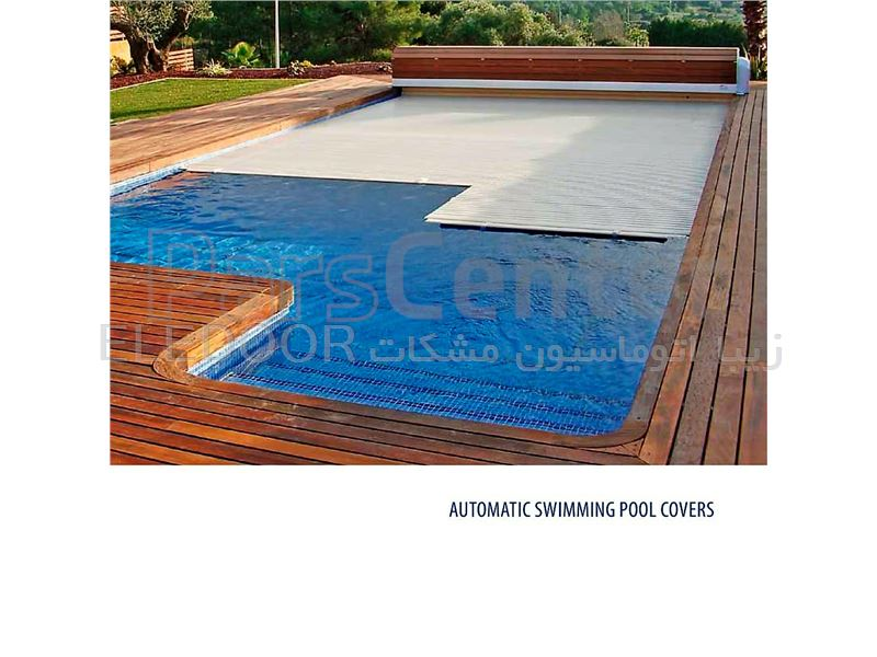 پوشش استخر (پی وی سی - شناور) (مدل SPC)