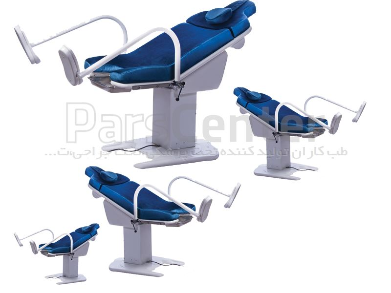 صندلی ژنیکولوژی تجهیزات پزشکی طب کاران