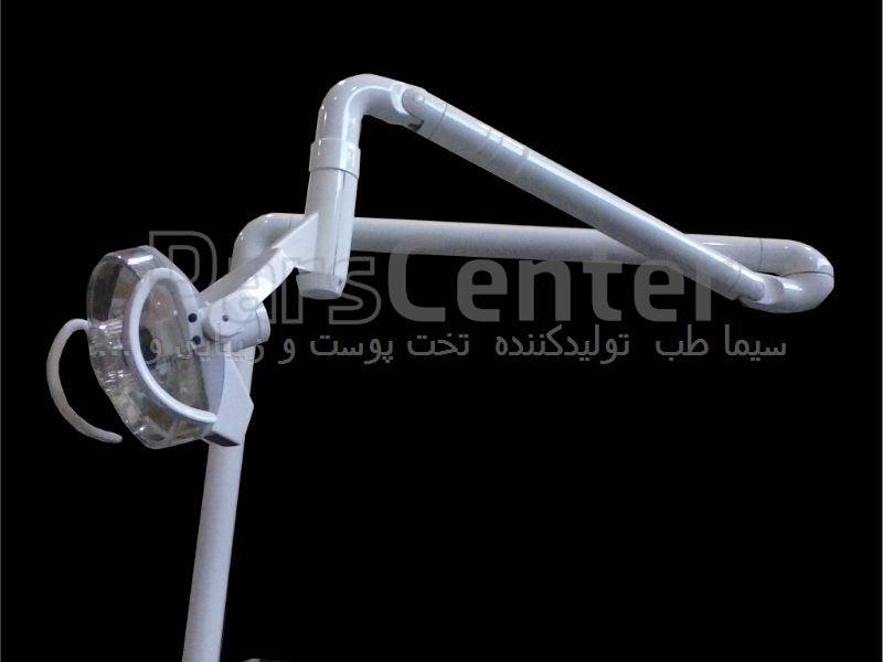 چراغ جراحی تک شعله هالوژن مدل HE1