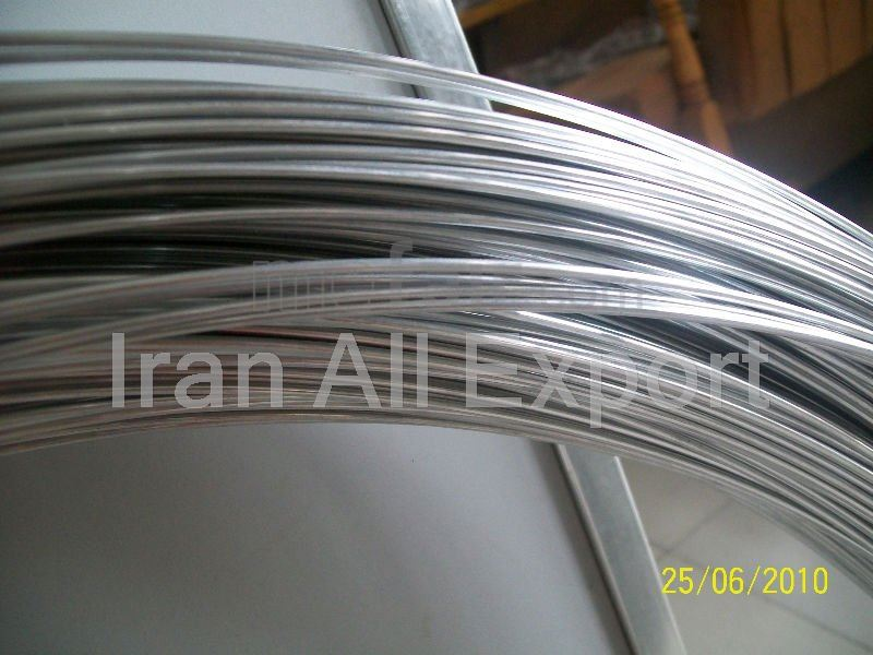 Galvanized Wire Rod from Iran to Turkmenistan