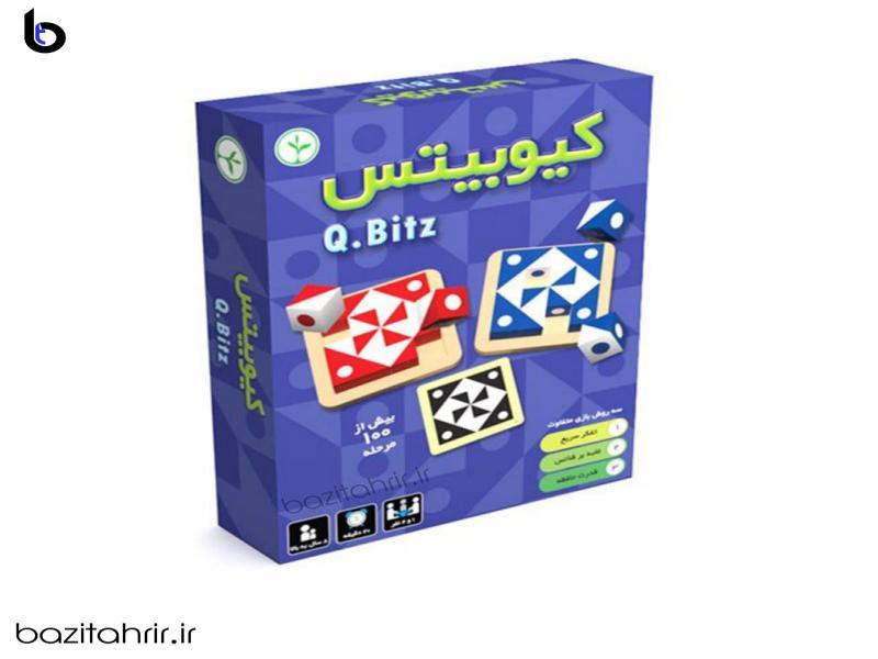 بازی فکری کیوبیتس   Q.Bitz