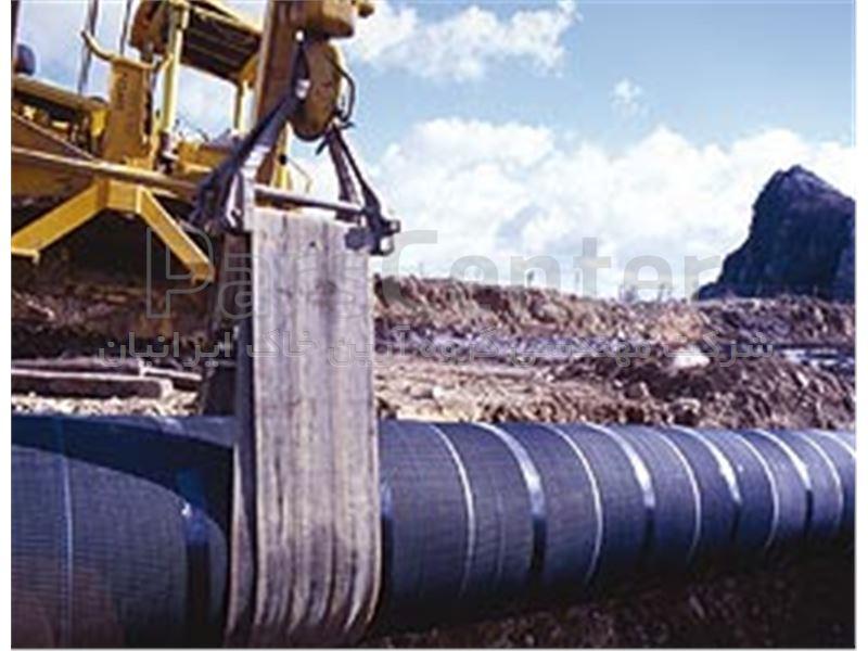 ژئوگرید های پلی اتیلنی جهت محافظت از لوله های انتقال نفت و گاز