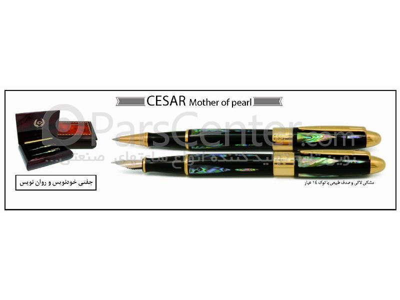 خودنویس و خودکار و روان نویس CESAR