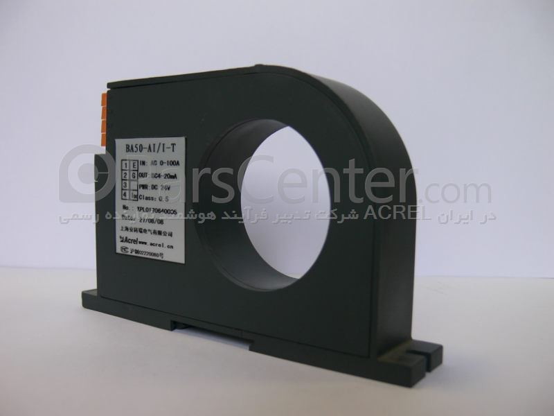 سنسور جریان 150 آمپر AC با خروجی سیگنال 20-4 میلی آمپر