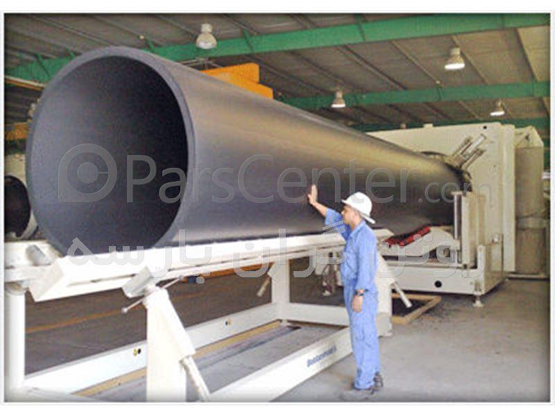 دستگاه جوش پلی اتیلن سایز 315 میلیمتر