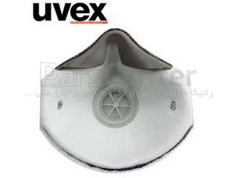 ماسک ایمنی سوپاپدار  N95 /FFP2 سوپاپ دار Uvex مدل Silv-air 2220