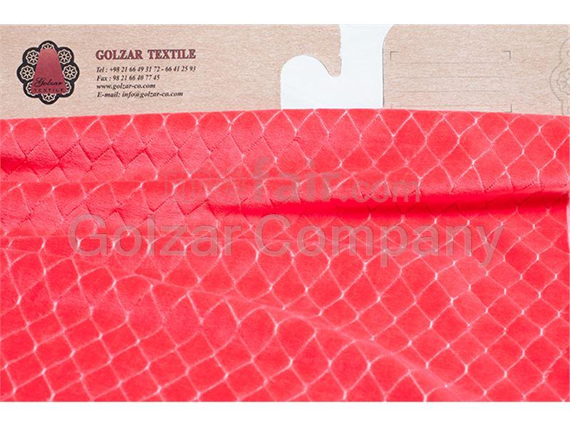 Velvet Jacquard and Ribbed Floor Knitting Fabric