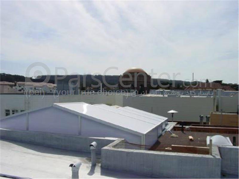 Building skylight _ نورگیر سقف متحرک تجاری