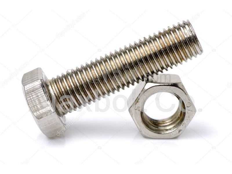 Stainless steel hex bolt Grade A2