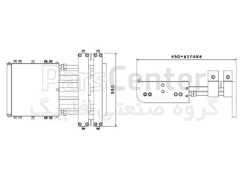 فیدر پنوماتیک سری E مدل EK