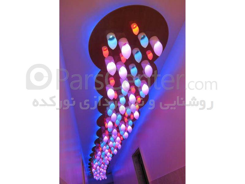 روشنایی و نورپردازی فضای داخلی(مسکونی،اداری،تجاری)