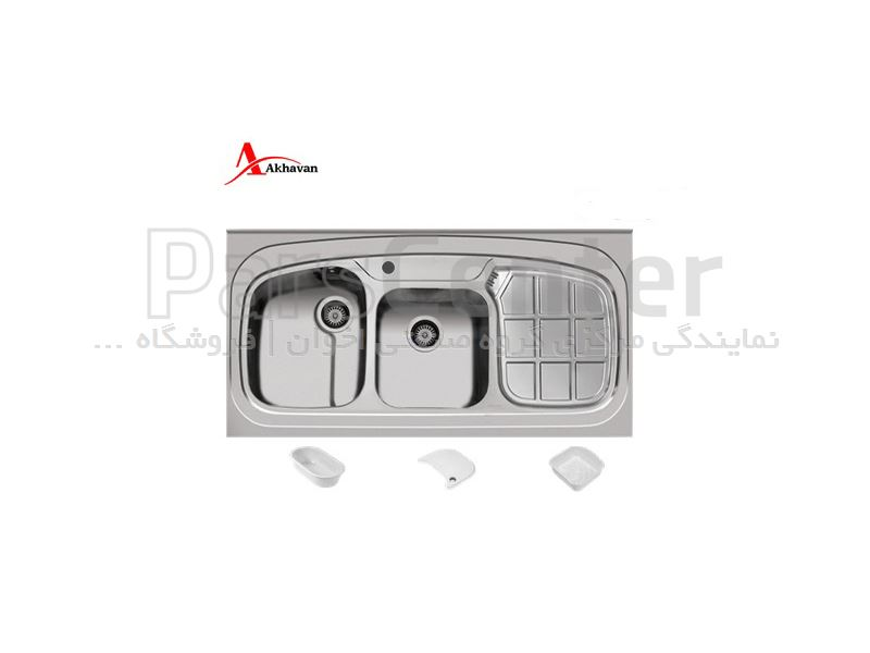 سینک روکار اخوان مدل 25CR