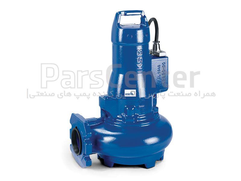 لجن کش های استیل فاضلابی KSB،pump Sewage ksb