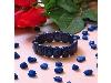 دستبند لاجورد عالی سنگ درمانی تقویت اعصاب _کد:۱۲۷۹۶