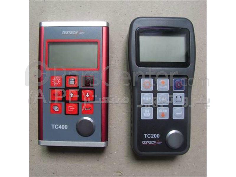ضخامت سنج فلز  مدل TC200 و TC400