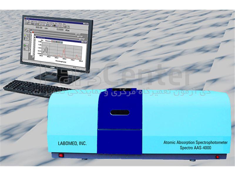 دستگاه جذب اتمی مدل LAMOMED AAS-4000 آمریکا ( آزمایشگاه شیمی )