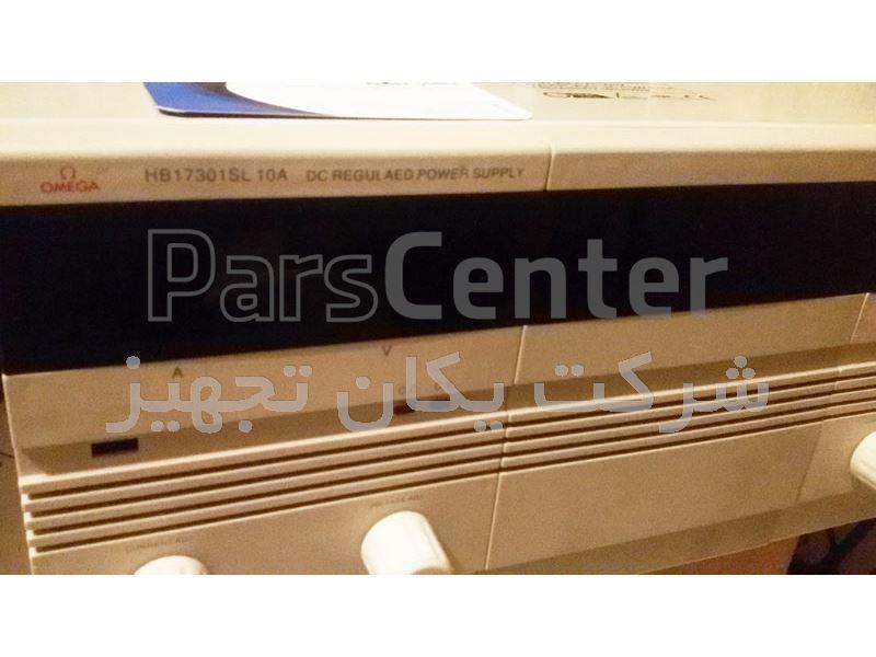 فروش منبع تغذیه دو خروجی ۳۰ ولت ۱۰ آمپر OMEGA Dual Channel REGULAED Power Supply HB17301SL