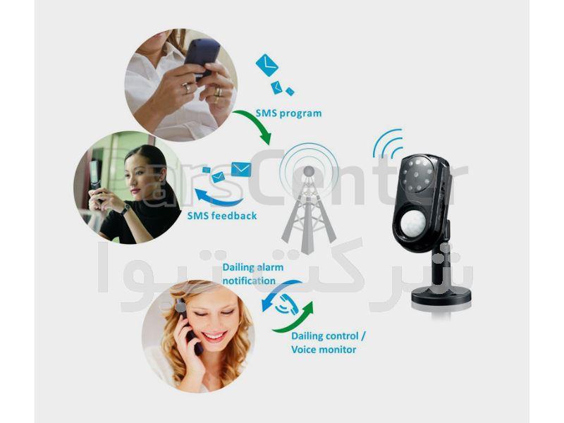 دوربین مداربسته تحت شبکه وایرلس مدل GM01
