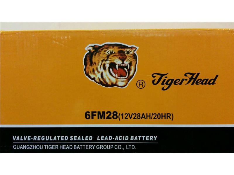 شرکت مظفر صنعت بنیان نماینده انحصاری باتری تایگر هد (Tiger Head)