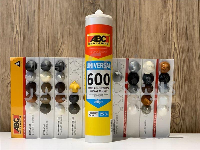 چسب سیلیکون شامپاینی ABC