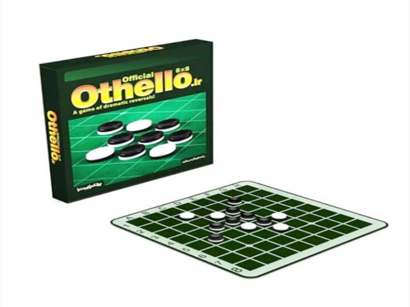 اتللو ۸ در ۸ فدراسیونی   بازی فکری اتللو فدراسیونی پرشان پارس مدیا
