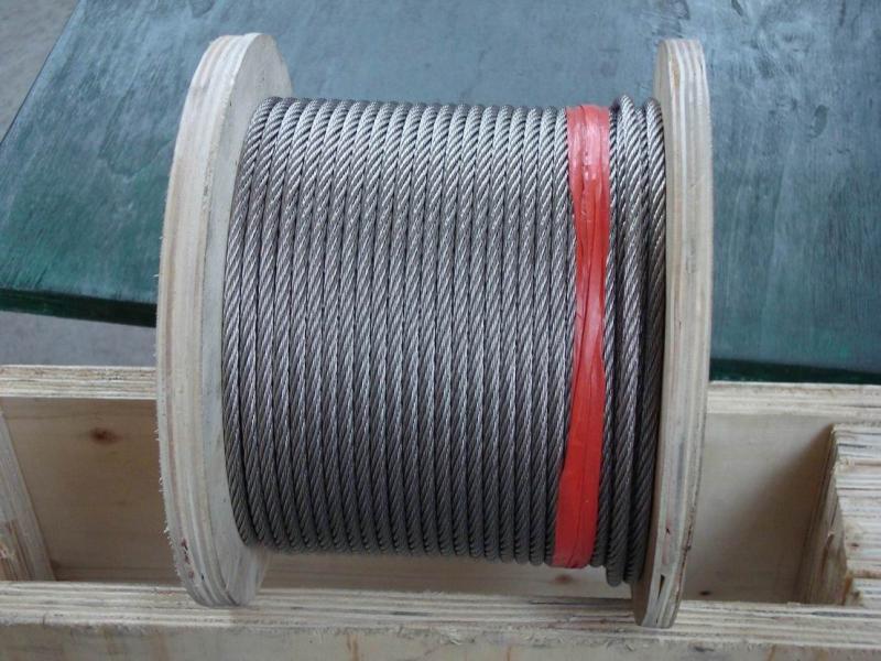 Excavating wire rope سیم بکسل حفاری