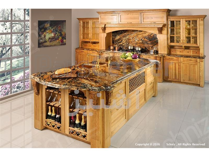 کابینت آشپزخانه طرح کلاسیک