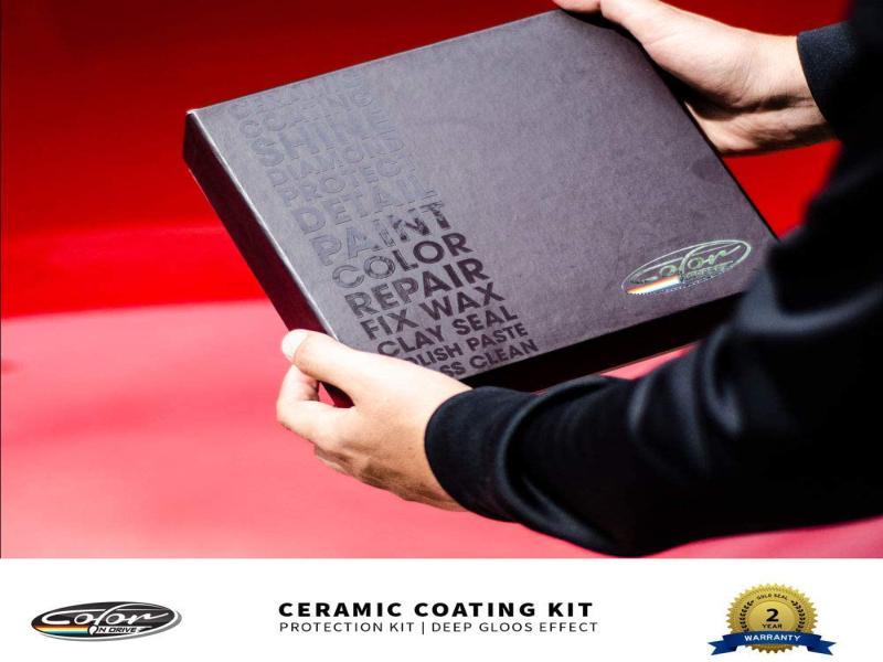کیت پوشش سرامیکی اتومبیل Color N Drive 50ml-9H