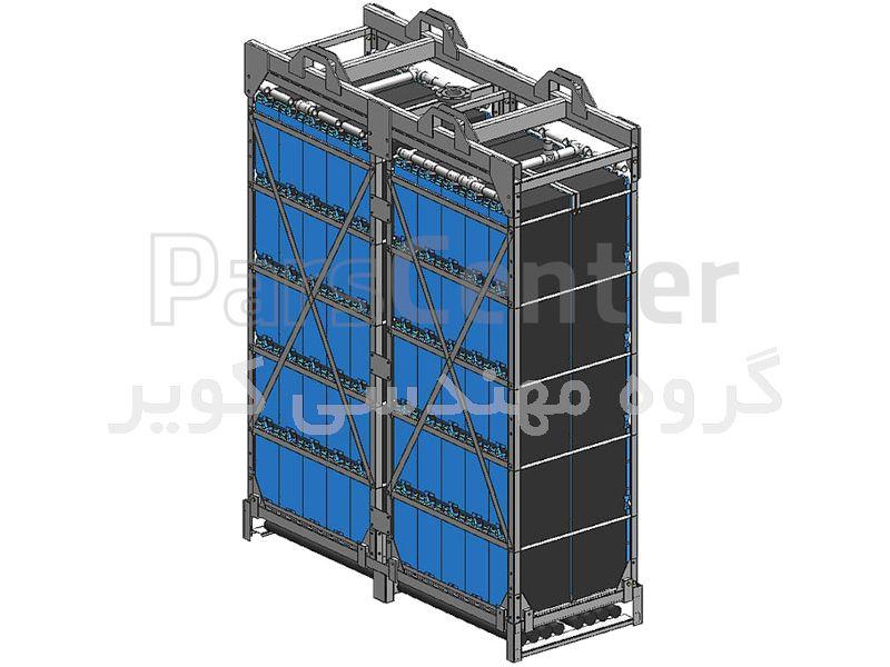 مدول MBR | بیورآکتور غشایی Flat sheet