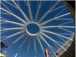 پوشش سقف گنبدی (پروژه شرکت پیمان ساخت 2)