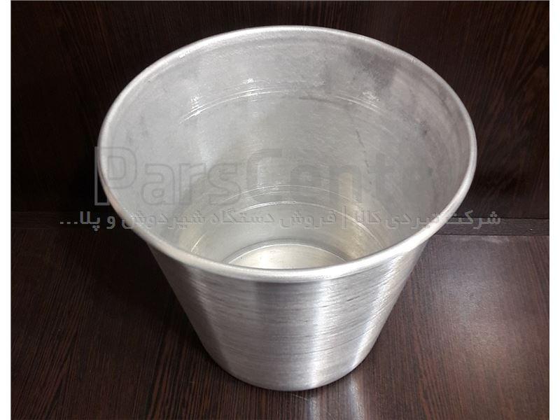 سطل شیر آلومینیومی گوساله