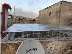سقف نورگیر پشت بام محله شهرارا