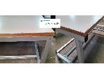 ساخت میزهای صنعتی و ادارای با پروفیل شیاردار در وایمند شاپ