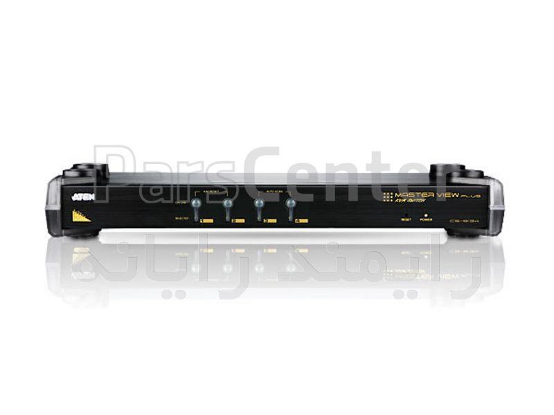 کی وی ام سوییچ 4 پورت مدل CS-9134