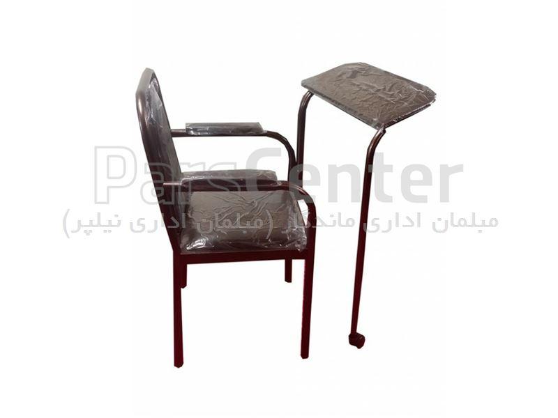 صندلی نماز مدل فلزی تشک دار
