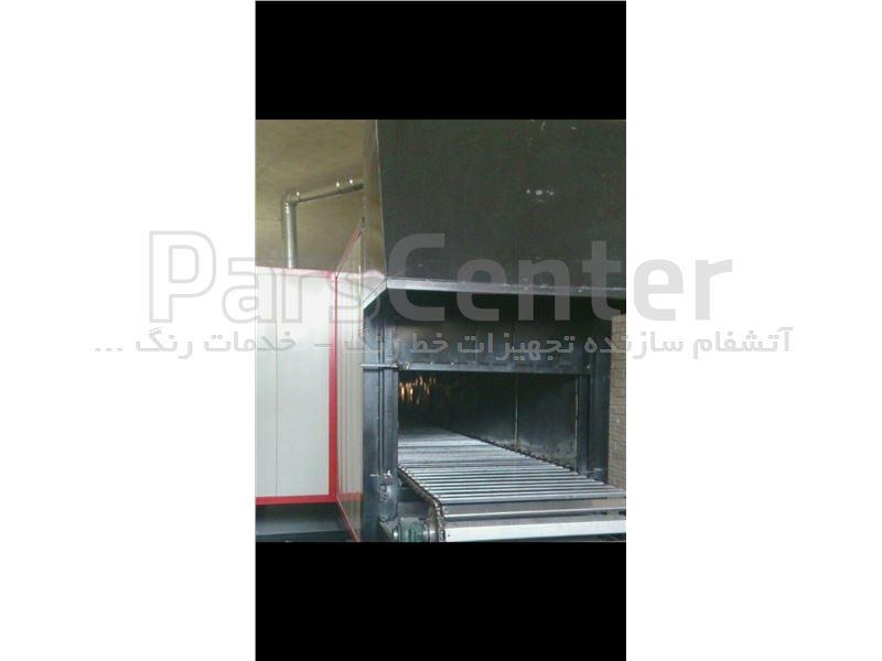 ساخت کوره های پخت تفلون( تونلی و باکس )