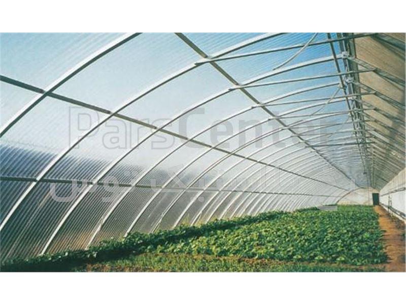 پلاستیک گلخانه سه لایه 8متری با یووی 3درصد