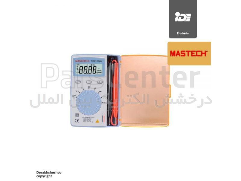 مولتی متر دیجیتال جیبی مدل MS8216 شرکت مستک   mastech