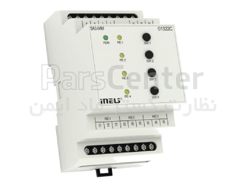 سوییچ عملگر چهار کانال خانه هوشمند iNELS مدل SA3-04M