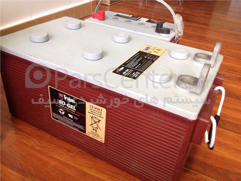 باتری TROJAN  225A.H ژل - ساخت آمریکا