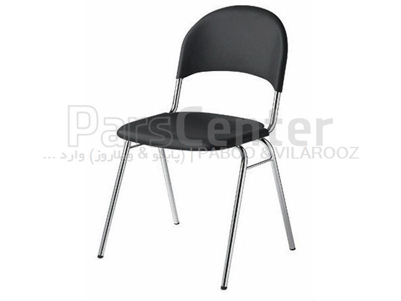 صندلی پلاستیکی پایه فلزی مانتل