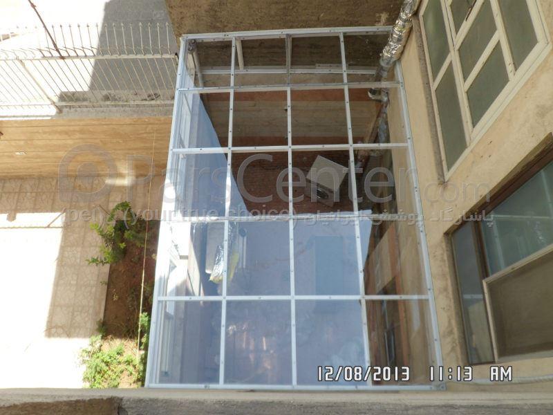 Patio Roof) سقف پاسیو (تمام شیشه ای ) 397 - محصولات سازه های پیش ...(Patio Roof) سقف پاسیو (تمام شیشه ای ) 397 ...