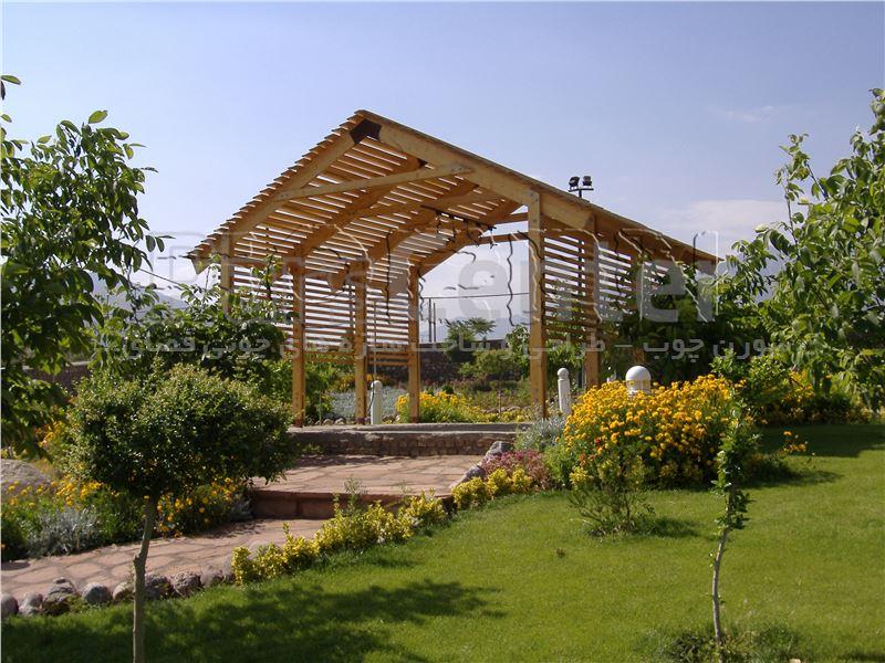 پروژه ی چوبی واقع در دماوند