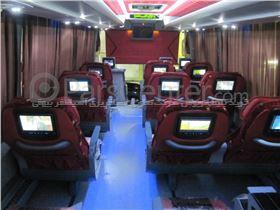 رزرو بلیط اتوبوس شیراز - تهران (اتوبوس vip ) آسیاسفر