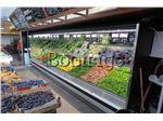 یخچال روباز میوه و سبزیجات،یخچال پرده هوا