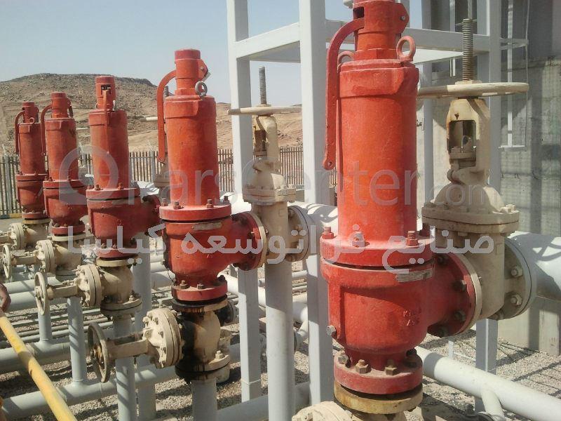 Safety relief valve محصولات شیرآلات در پارس سنتر